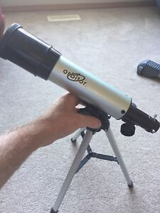 Small telescope kit.
