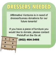 Wanted: Dresser Donations