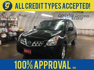 2011 Nissan Rogue S*PHONE CONNECT*KEYLESS ENTRY*POWER WINDOWS/LO