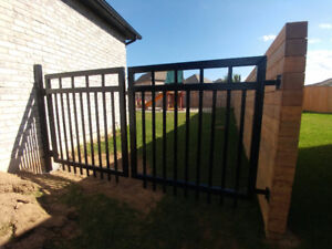 Custom Wrought Iron Metal Railings, Gates, Fence Fabrications
