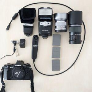 Olympus M4/3 Camera and gear
