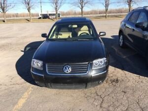4 motion 2003 Volkswagen Passat Berline NEGOCIABLE