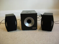 2.1 Speaker System Sivercrest SP-2124 Great Condition!
