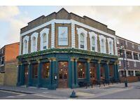 General Manager – Gastropub in East London £32-£35k