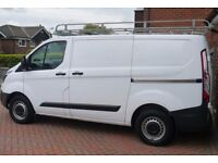 Galvanised Ford Transit Custom roof/ladder rack