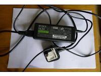 Sony 19.5v laptop power supply VGP-AC19V20