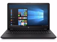 NEW HP 15.6 inch Intel Celeron laptop with 4GB & 1TB