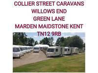 2 4 5 6 berth caravans with warranty MAIDSTONE