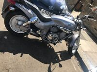 250cc naked bike , Full years MOT, £900 ono Kymco Venox (not Harley, Honda, Bandit, Ducatti)