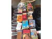 Books - job lot - kids crime gardening etc