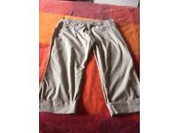 Ladies 3/4 shorts size 18 Casual Club Debenhams