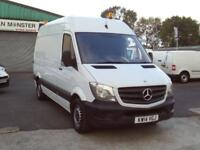 Mercedes-Benz Sprinter 313cdi mwb H'Roof 130ps New Shape DIESEL MANUAL (2014)