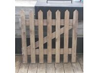 Wooden Garden Gate W 90.5cm H 90cm