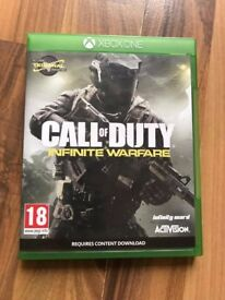 Call of duty infinite warfare , as new , xbox one ! Price stands , no offers !