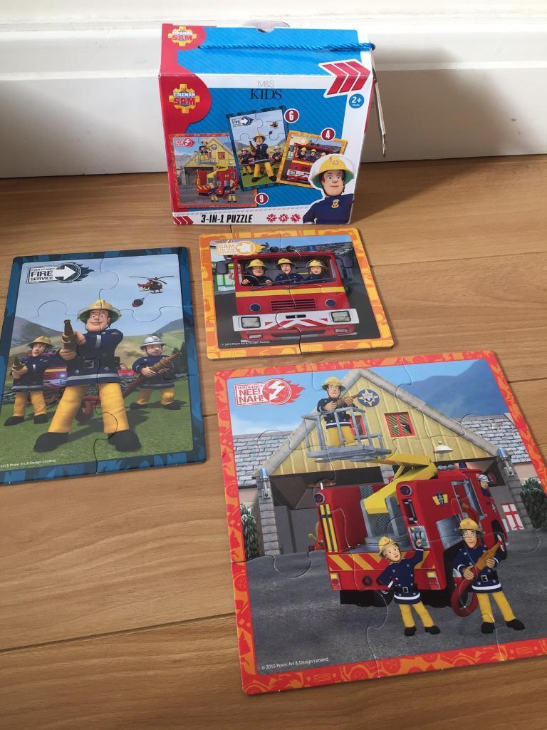 Fireman sam puzzles