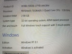 NEW PRICE! Microsoft Surface tablet for Sale!!! hardly used!