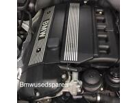 BMW 5 SERIES 2001 E39 525i M54 ENGINE FORSALE JUST ENGINE . Top & bottom nothing else