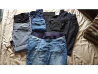 Size 14 Maternity Trousers/skirt bundle