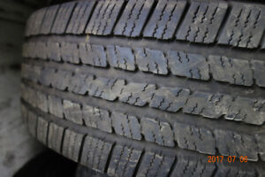 225 75 16 tires for sale used, LT.