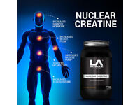 Nuclear Creatine: LA Muscle Gets to work right away, RRP £69.99 50% SAVING £34.99 SEALED UNOPENED