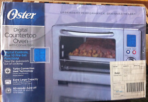 Oster® Digital Countertop Oven with Convection, Stainless Steel