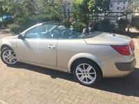 ONLY 45000 miles, 05 MEGANE CONVERTIBLE-AUTOMATIC, FULL MOT, FULL SERVICE HISTORY