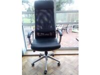 Ikea Markus Office chair in good condition Black