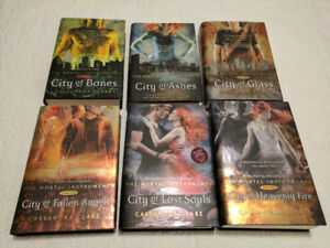 Hardcover Books ~ Cassandra Clare ~ The Mortal Instruments