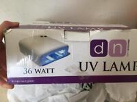 Uv led nail lamp