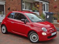 Fantastic 2016 Fiat 500 1.2 Petrol, New Shape, Full Service History, 11k Miles, Show condition,3dr