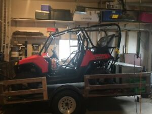 2012 RZR 800 EFI/EPS And Trailer