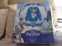 Disney Frozen Olaf jumper knitting kits