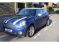 2008 Mini Cooper Hatchback With Racing Stripes For Sale - Low Mileage and good condition
