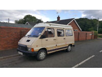 Renault Trafic T1000 Holdsworth Romance, 1.7 petrol, 1987, very low mileage (45,000) Good condition.