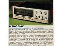 kenwood kr 6340 quad amp in very good condtion MAY PX A TAPE DECK