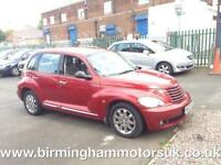 2007 Chrysler PT Cruiser 2.4 LIMITED EDITION AUTOMATIC 5DR MPV RED + LOW MILES