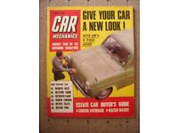 CAR MECHANICS MAGAZINE DATED AUGUST 1966