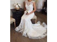 Art courture wedding dress