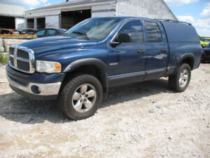 LAST CHANCE FOR PARTS 2002 DODGE RAM @ PIC N SAVE WOODSTOCK