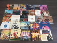 Large Collection of around 90 old vinyl LP records 60's 70's 80's Queen Wham Disney Now 1 4 5