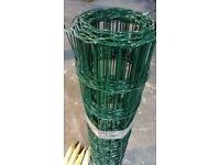 PVC Coated border fencing 1.2m x 25m