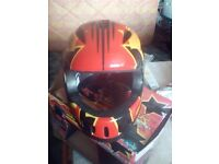 Small boys helmet