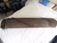 Guzheng (zither), Chinese traditional Instrument, 21 stringed beaut