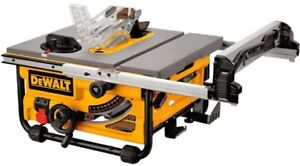 DEWALT 10-inch Compact Job Site Table Saw with Site-Pro Modular