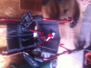 "Light weight wheel chair ""transportation style"" great make/style"