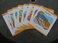 8 Children's Reading Books. Yellow