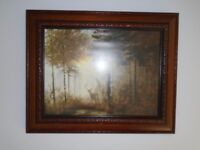 A print by Coulson called Quiet Forest