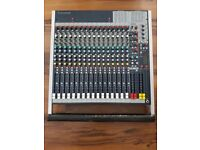Soundcraft FX16ii with 24 bit Lexicon digital effects processor