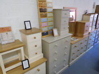 Brand New Ex - Display Pine & Oak Furniture Sale