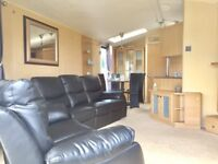 Luxury 6 berth static caravan for sale, huge price reduction. On Norfolk coast, near Gt Yarmouth